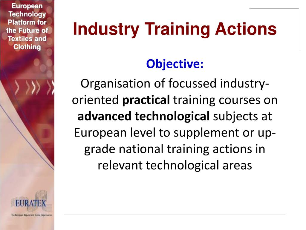 Industry Training Actions