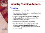 industry training actions22