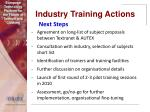 industry training actions25