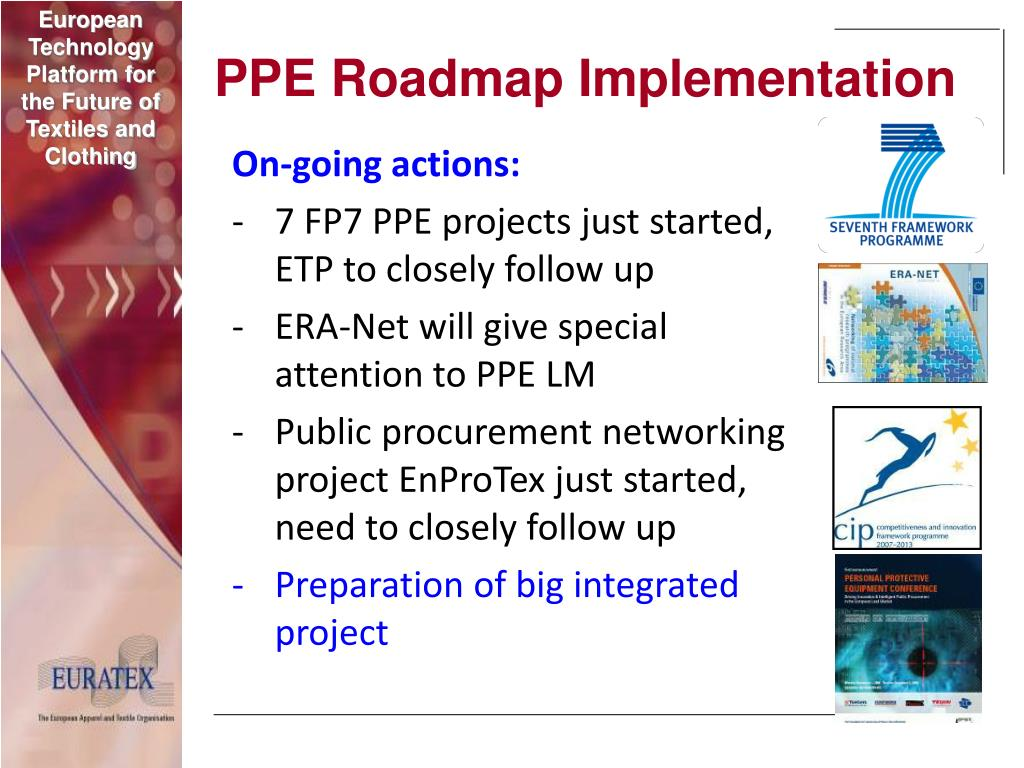 PPE Roadmap Implementation