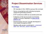 project dissemination services37
