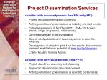 project dissemination services38