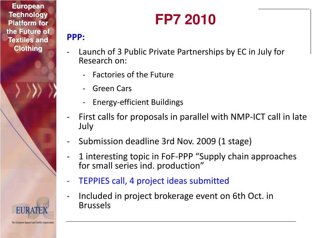FP7 2010