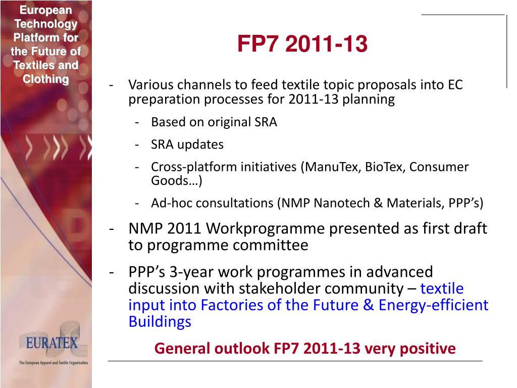 FP7 2011-13