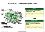 key opinion leaders in medical market