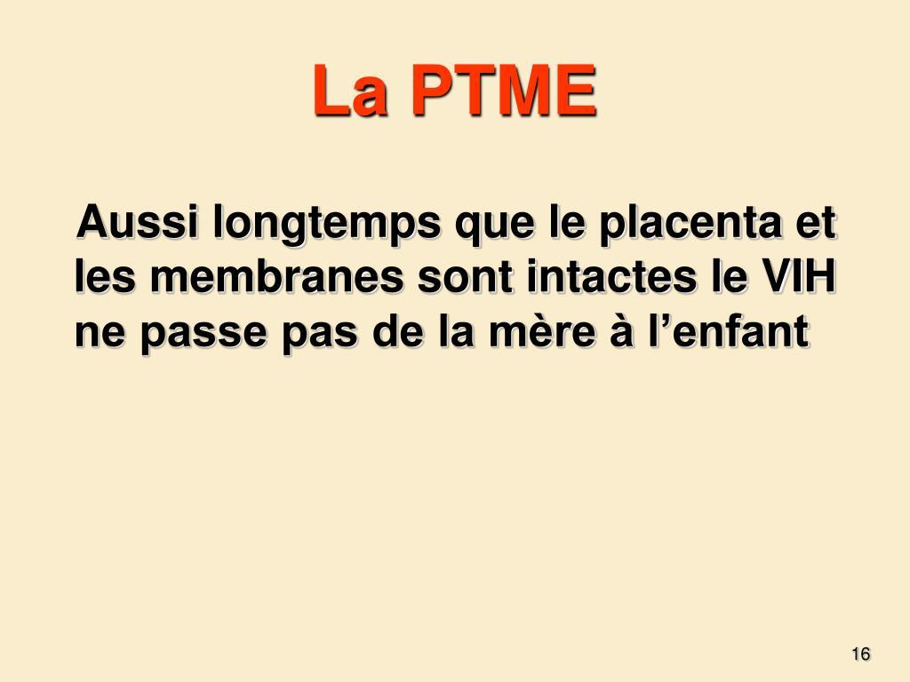 La PTME