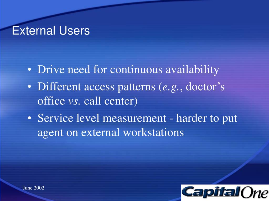 External Users