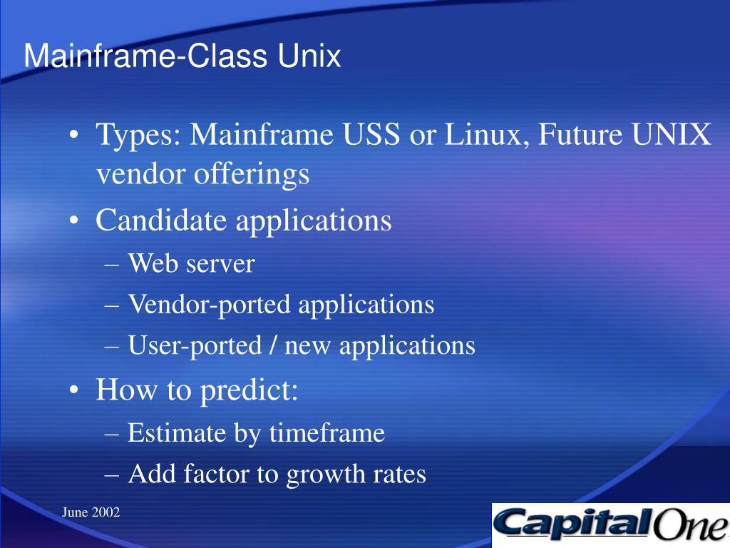 Mainframe-Class Unix