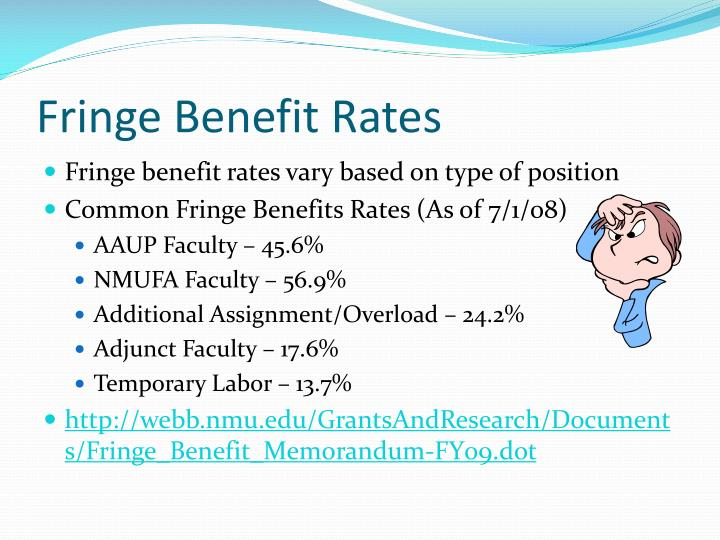 Fringe Benefit Rates