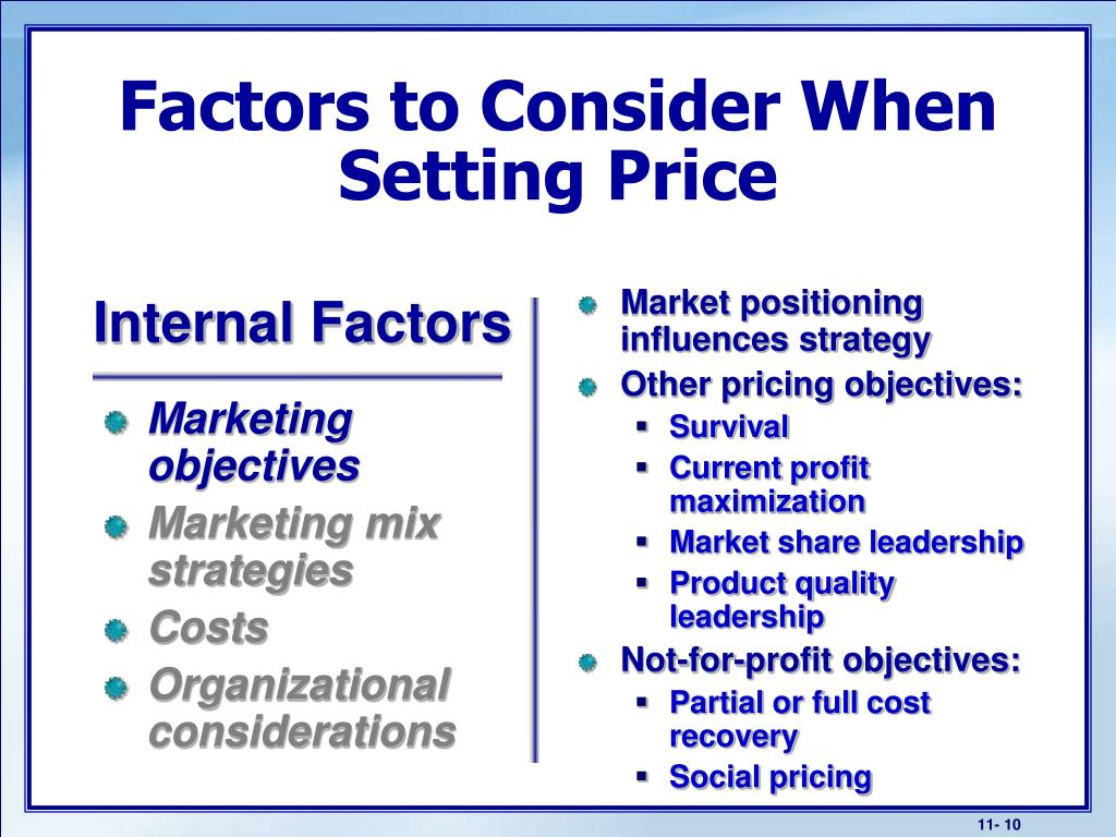 Market positioning influences strategy