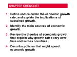 chapter checklist