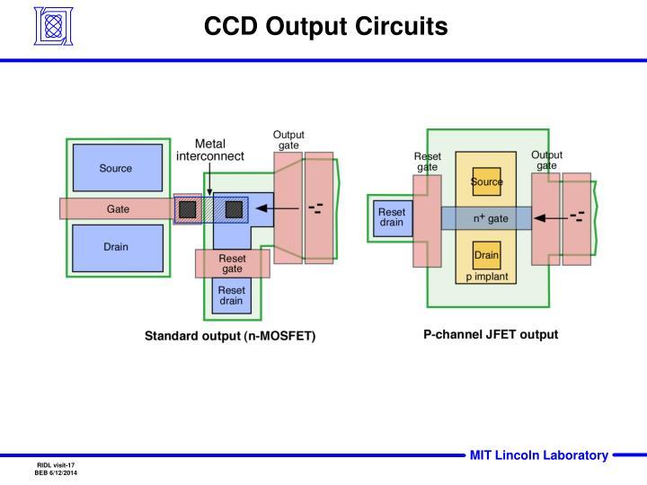 CCD Output Circuits