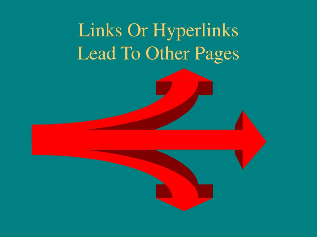 Links Or Hyperlinks