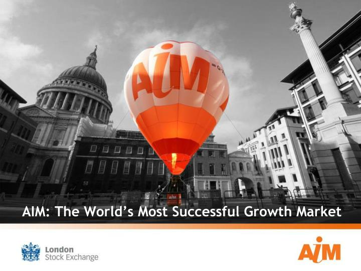 Aim the world s most successful growth market l.jpg
