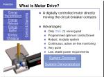 what is motor drive