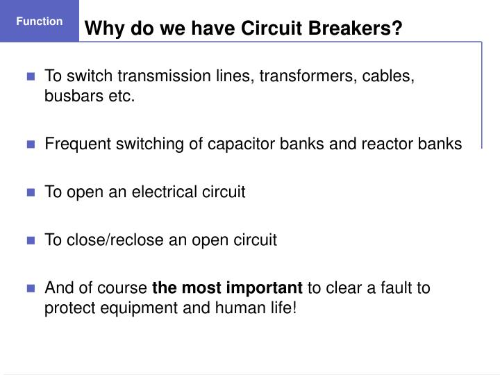 Why do we have circuit breakers l.jpg