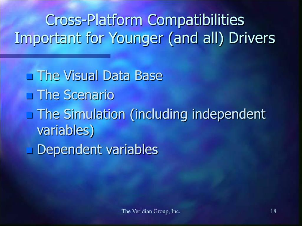 Cross-Platform Compatibilities Important for Younger (and all) Drivers
