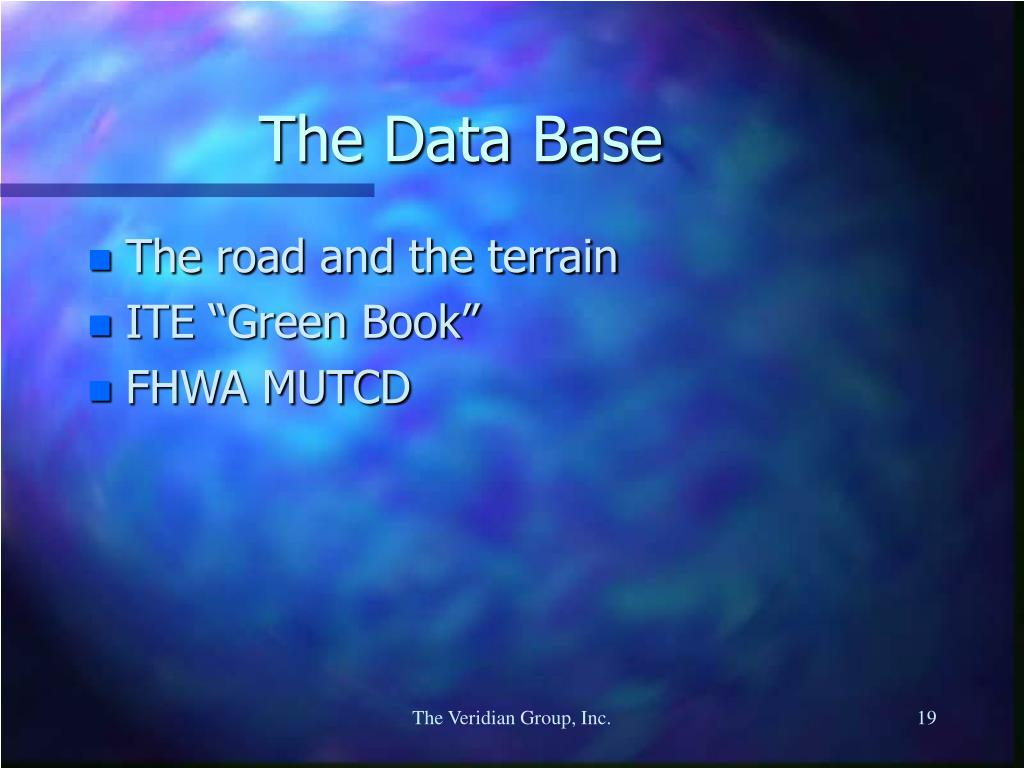 The Data Base