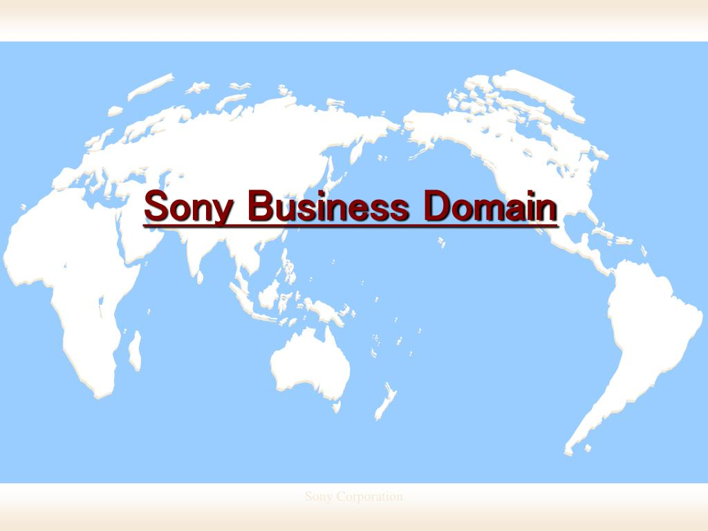 Sony Business Domain