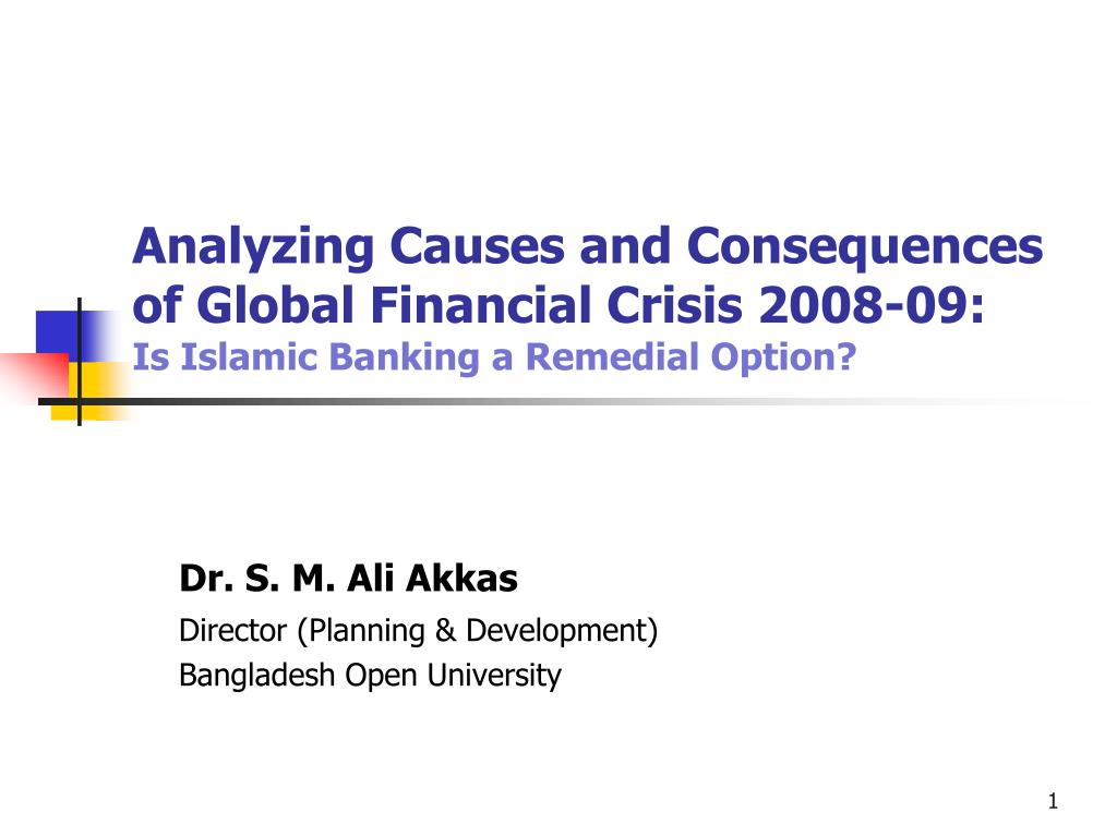 what causes a crisis In a narrow sense, the global financial crisis of 2008 was unprecedented it was the result of a range of problems that had built up over time: light regulation of banks, overly complex credit products, tighter cross-border linkages and irrational exuberance in the housing market but while that precise.