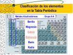 clasificaci n de los elementos en la tabla peri dica12
