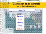 clasificaci n de los elementos en la tabla peri dica16