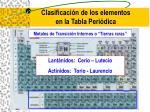 clasificaci n de los elementos en la tabla peri dica20