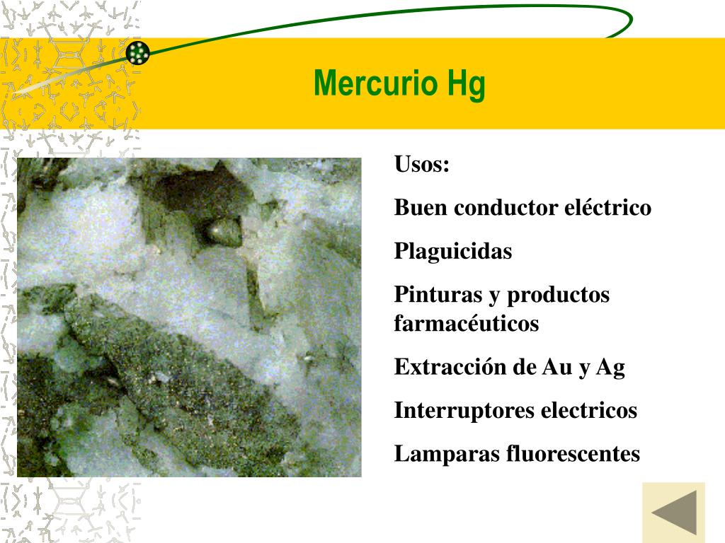 Mercurio Hg