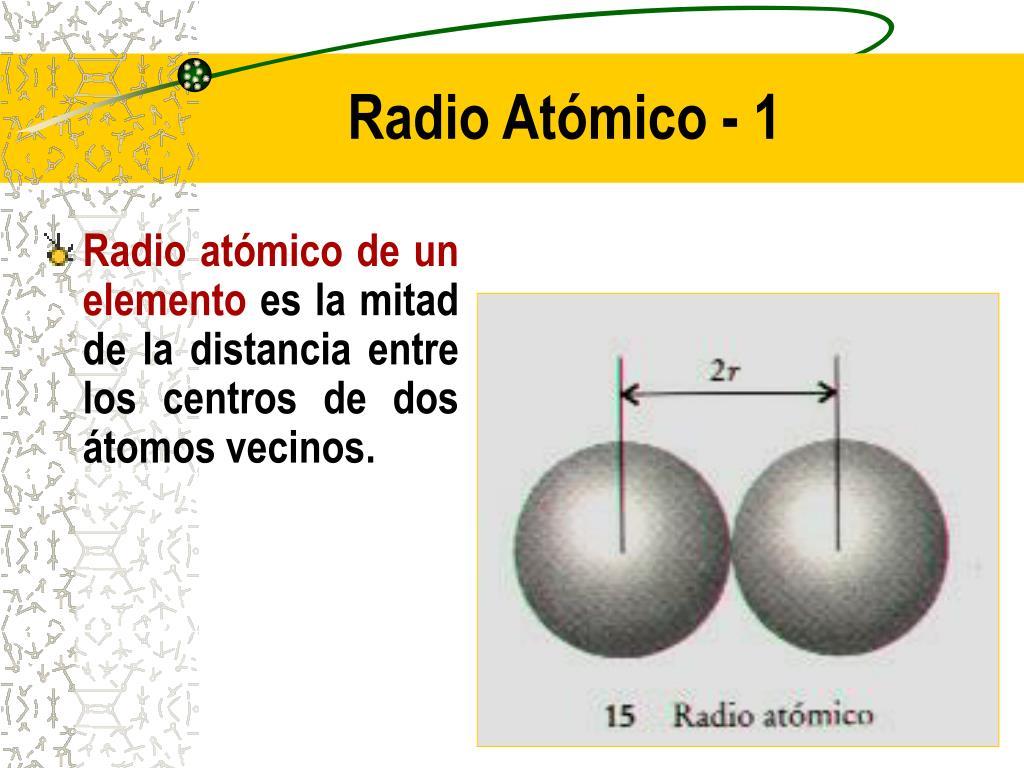 Radio Atómico - 1