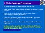 lads steering committee