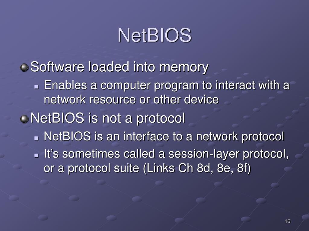 NetBIOS