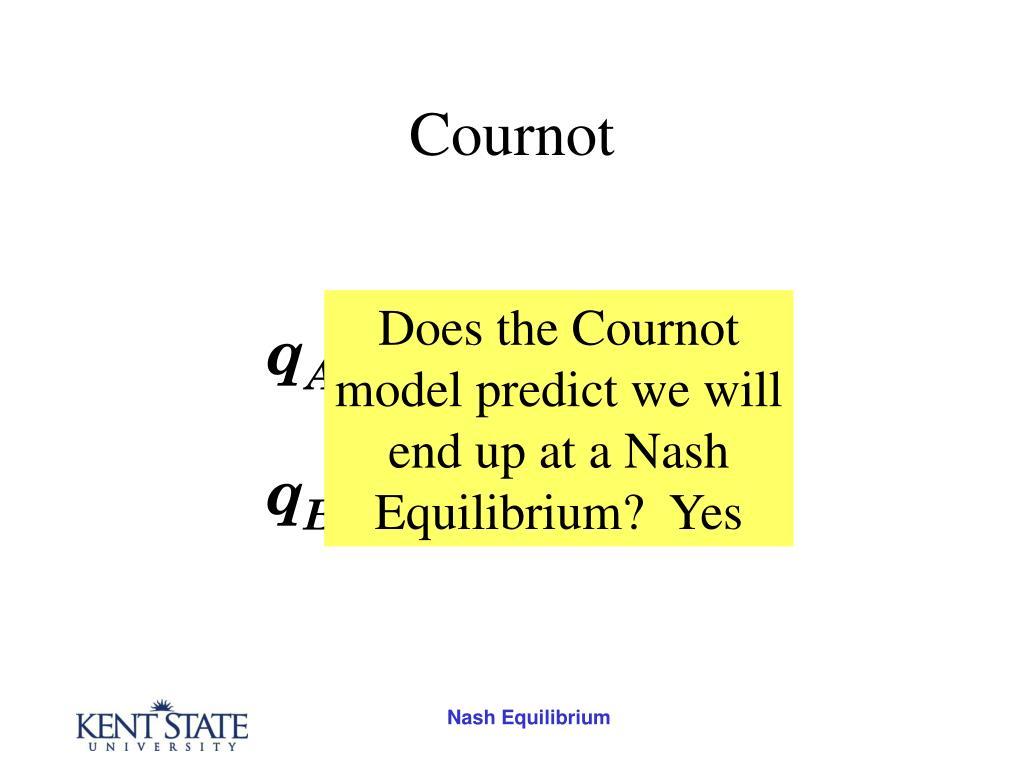 Cournot