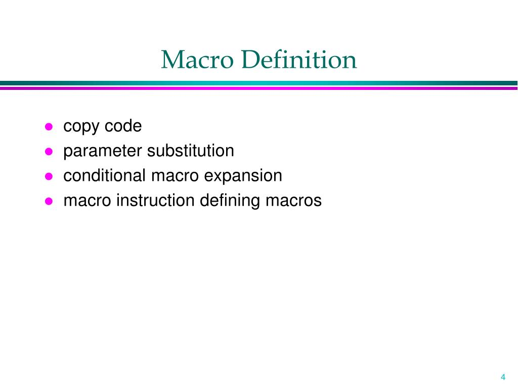 Ppt - Macro Processors Powerpoint Presentation