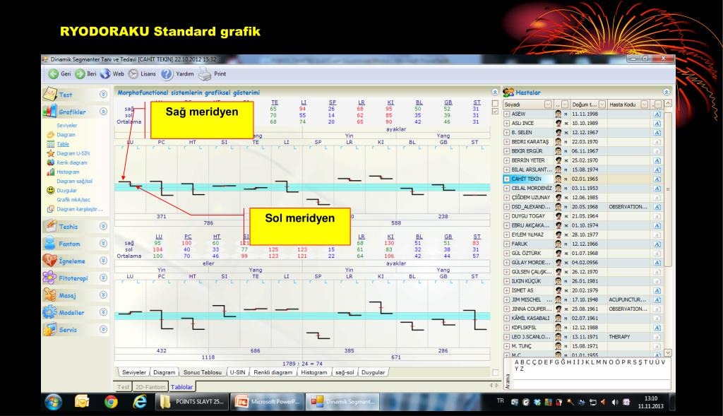 RYODORAKU Standard grafik
