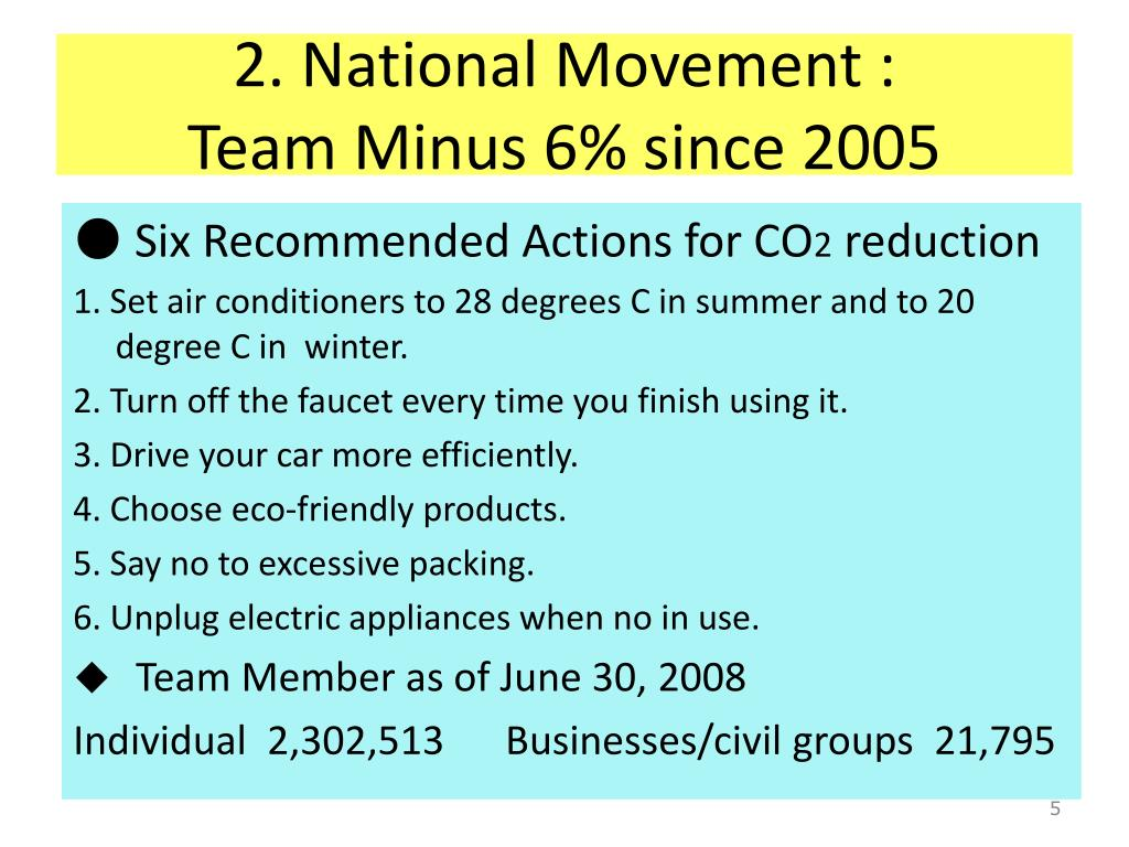 2. National Movement :
