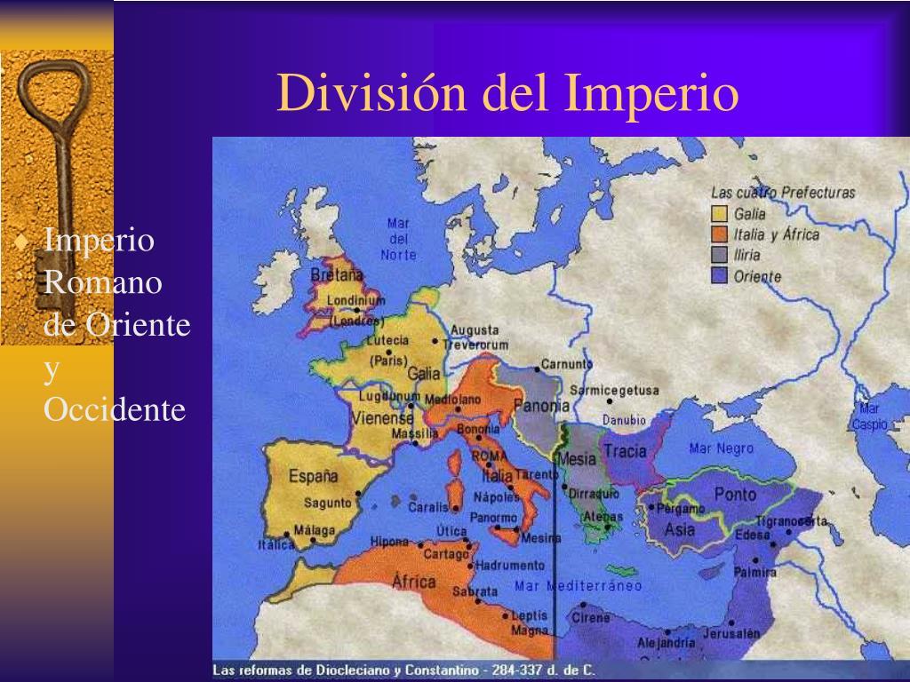 División del Imperio