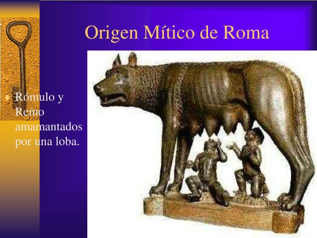 Origen Mítico de Roma