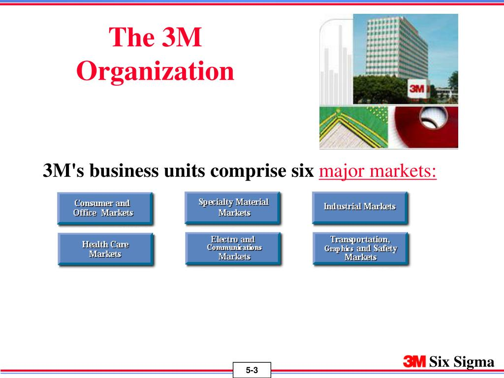 The 3M Organization
