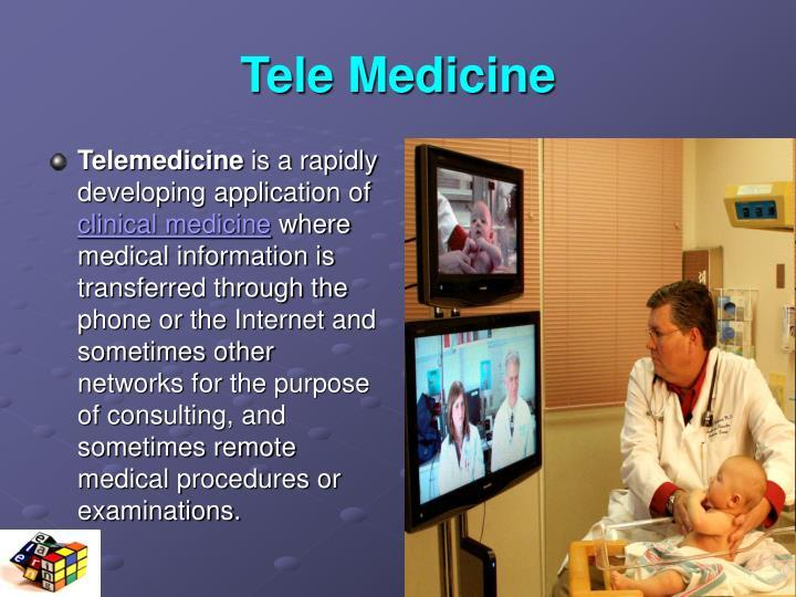Tele Medicine