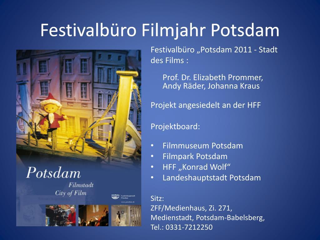 Festivalbüro Filmjahr Potsdam
