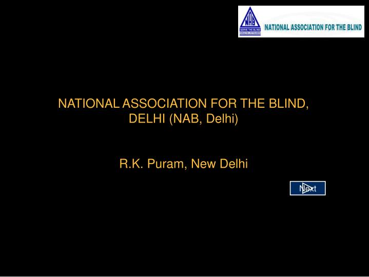 National association for the blind delhi nab delhi r k puram new delhi l.jpg
