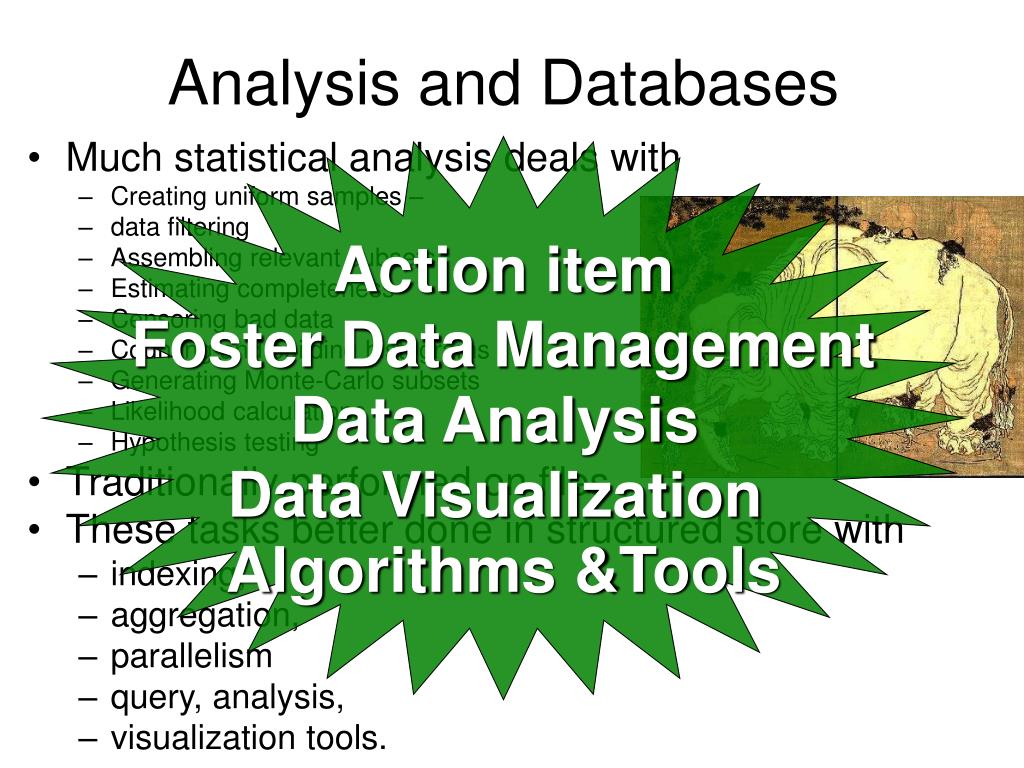 Analysis and Databases