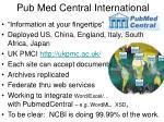 pub med central international