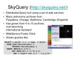 skyquery http skyquery net