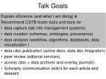 talk goals20