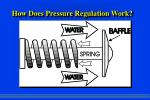how does pressure regulation work
