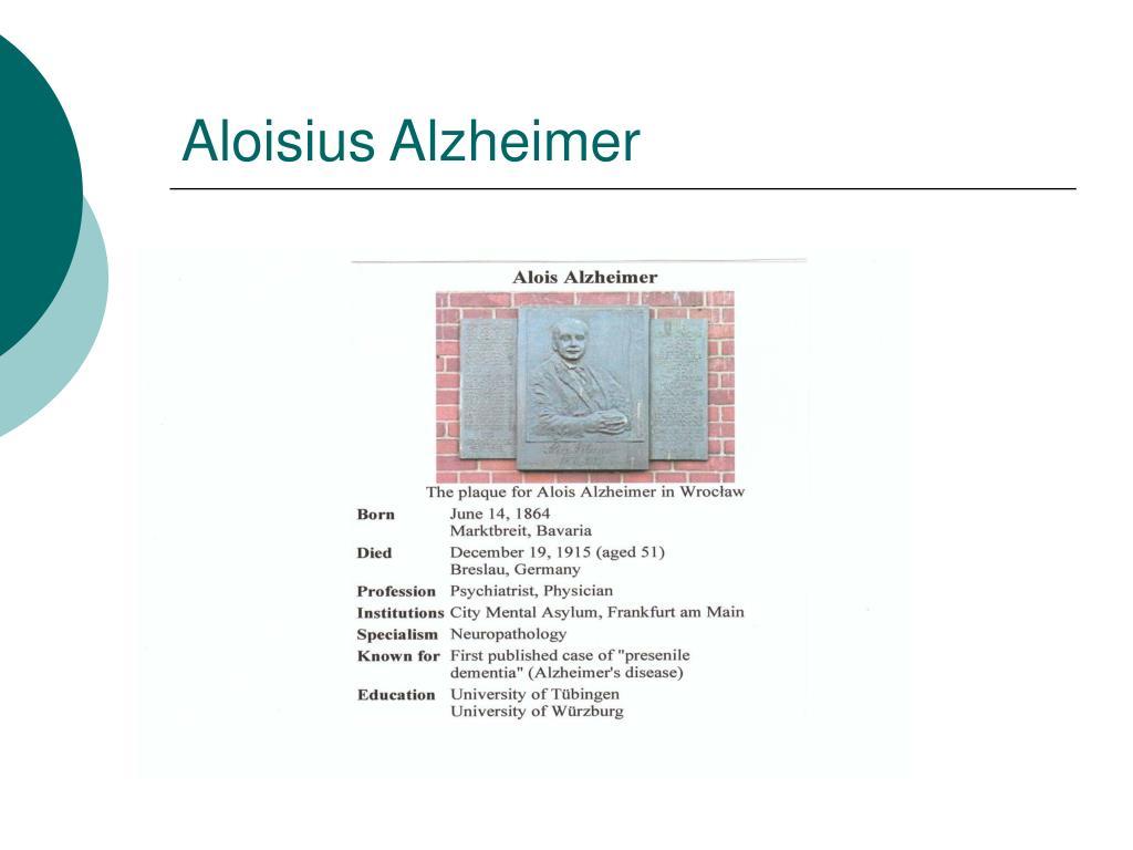 Aloisius Alzheimer