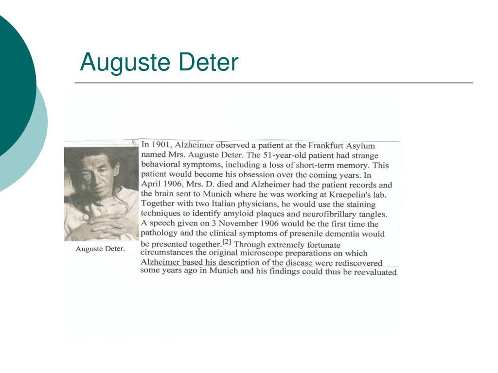 Auguste Deter