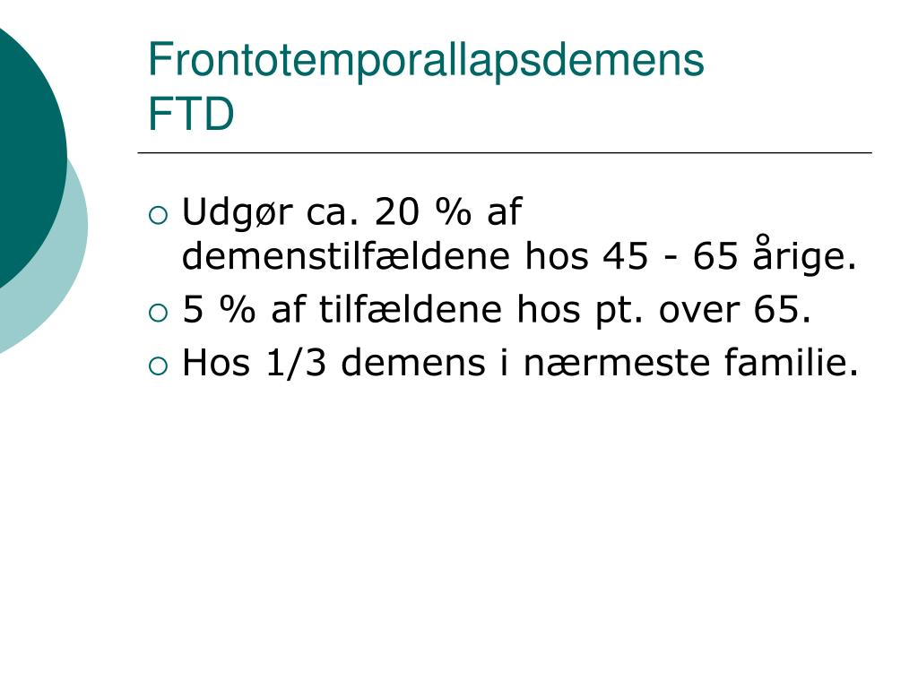 Frontotemporallapsdemens