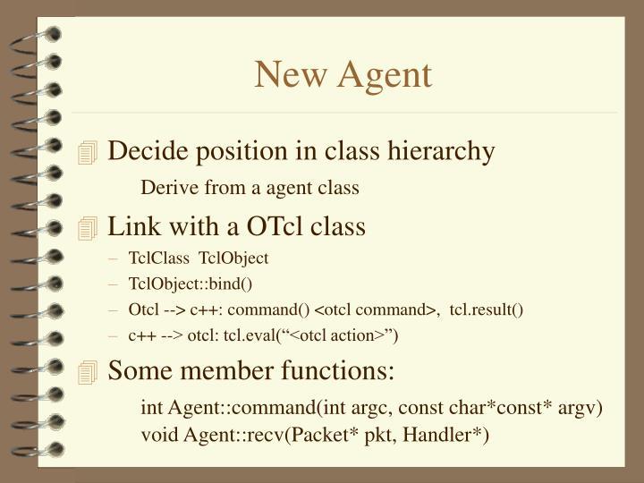 New Agent